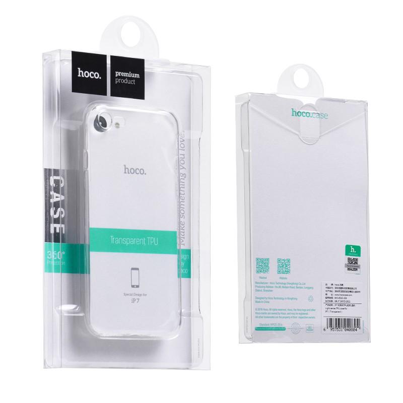 Ốp Iphone Hoco Light -Trong Suốt - Ốp Dẻo Hoco Siêu Mỏng - Full Hộp Chính Hãng - Bảo Vệ Cho Iphone