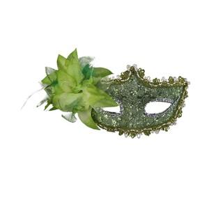 Mặt Nạ Hóa Trang Hình Hoa Lệch Chơi Halloween