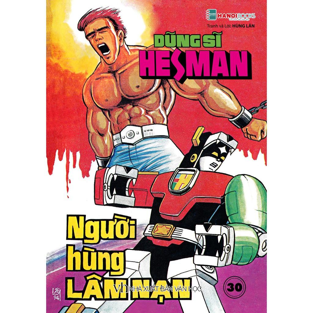 Sách - Boxset 6 : 5 Tập Dũng Sĩ HesMan