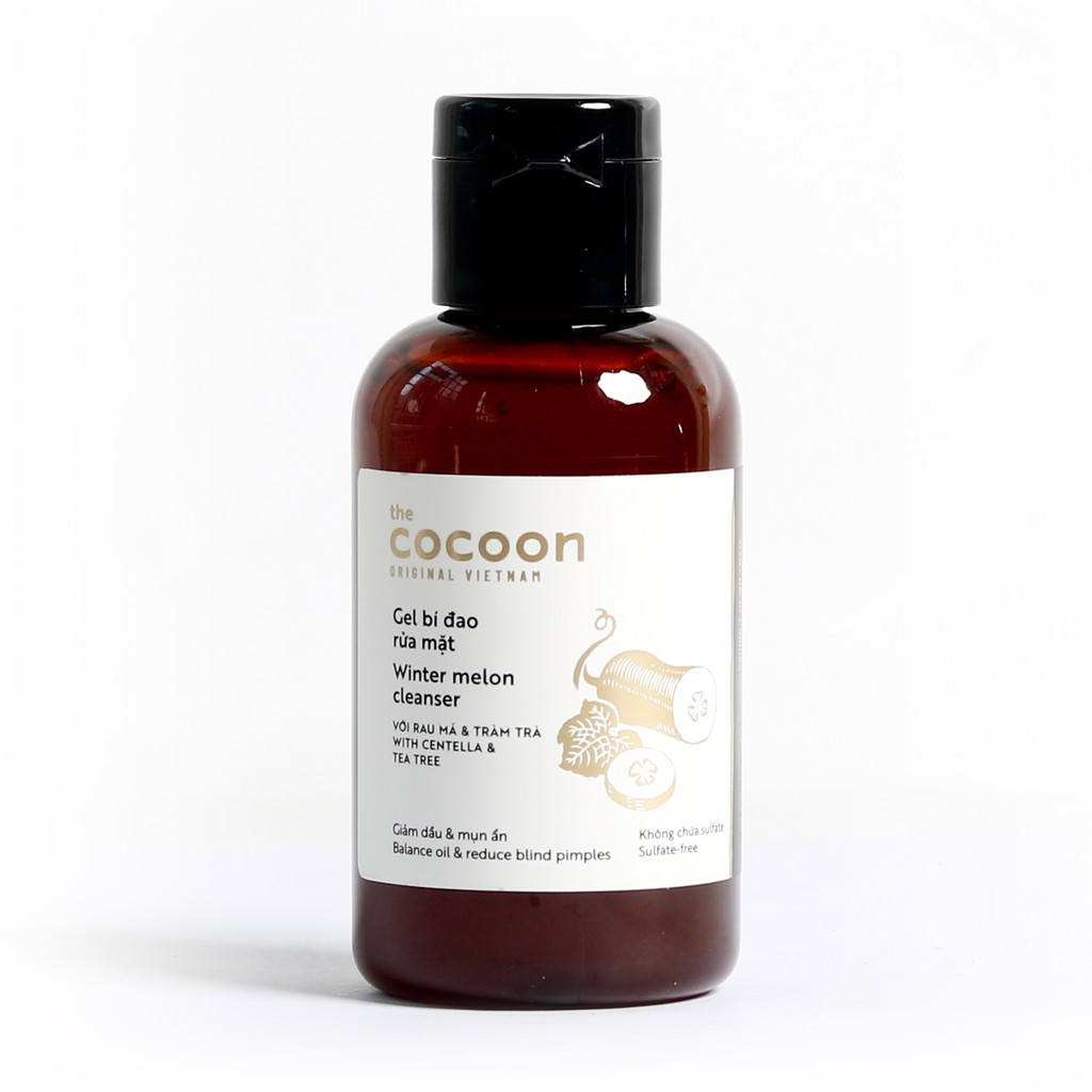 Gel bí đao rửa mặt Cocoon (Winter melon cleanser) 140ml