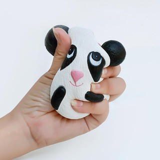 1Pcs Creative Cute Panda Face Vent Toy PU Slow Rebound Toys