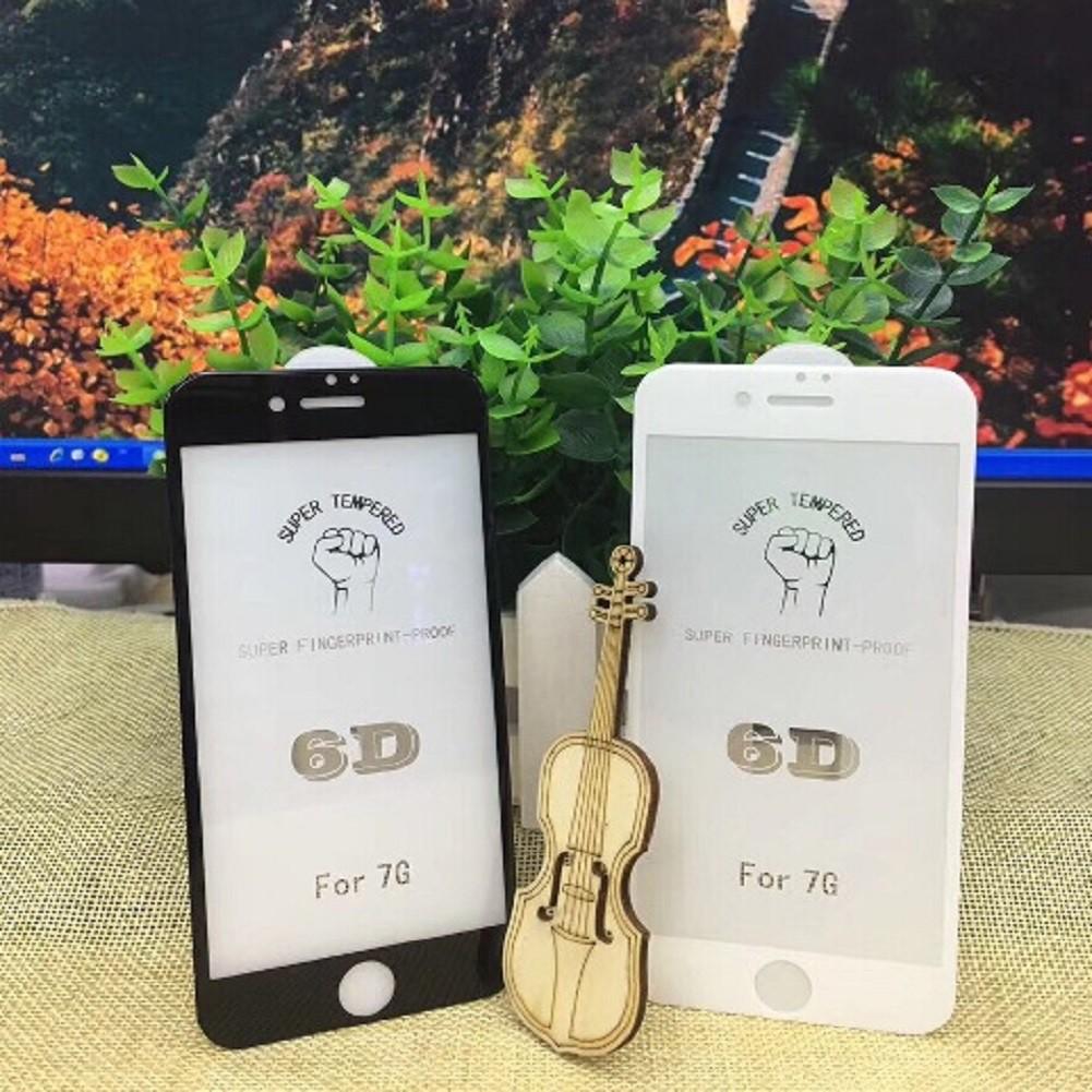 [ELMT30K hoàn 30K Xu] Cường Lực Iphone 6D Full Màn Hình + tặng kèm nút home