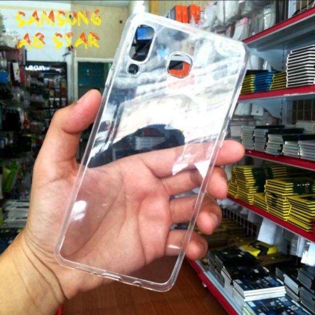 Ốp lưng dẻo cho Galaxy A8 Star trong suốt ( Loại tốt )