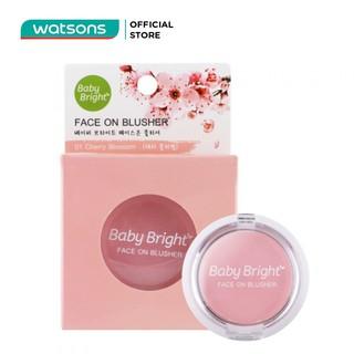 Phấn Má Hồng Baby Bright Face On Blusher 5g 01 Cherry Blossom thumbnail