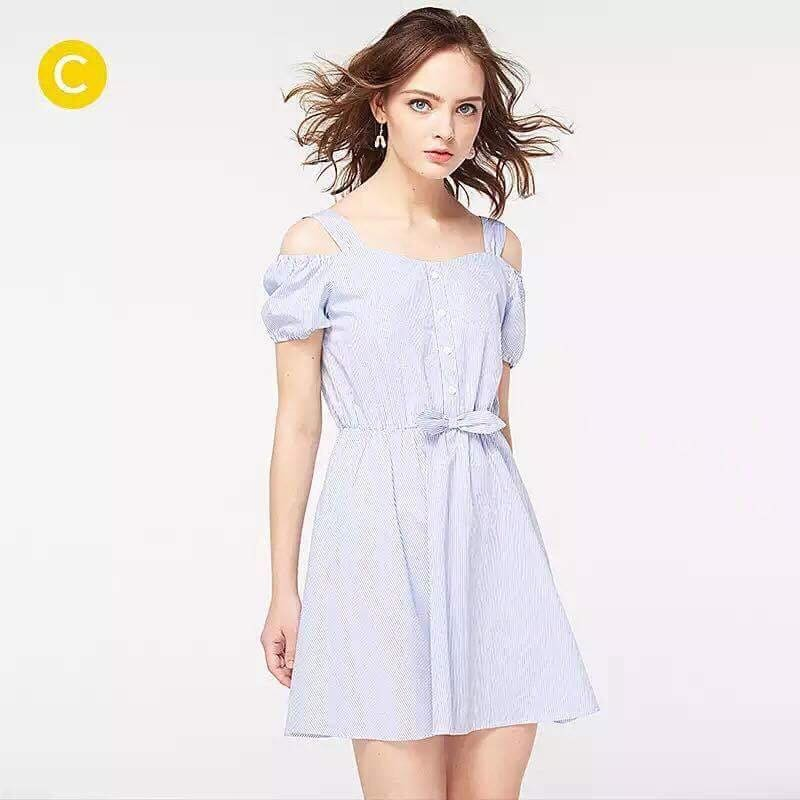 Váy xuất Pháp kèm nơ