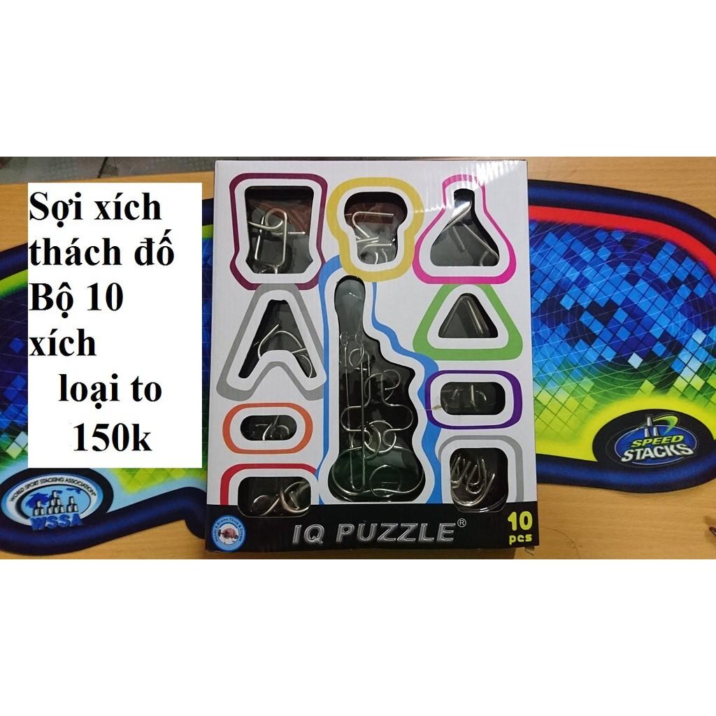 IQ Puzzle 4 Sợi xích thách đố