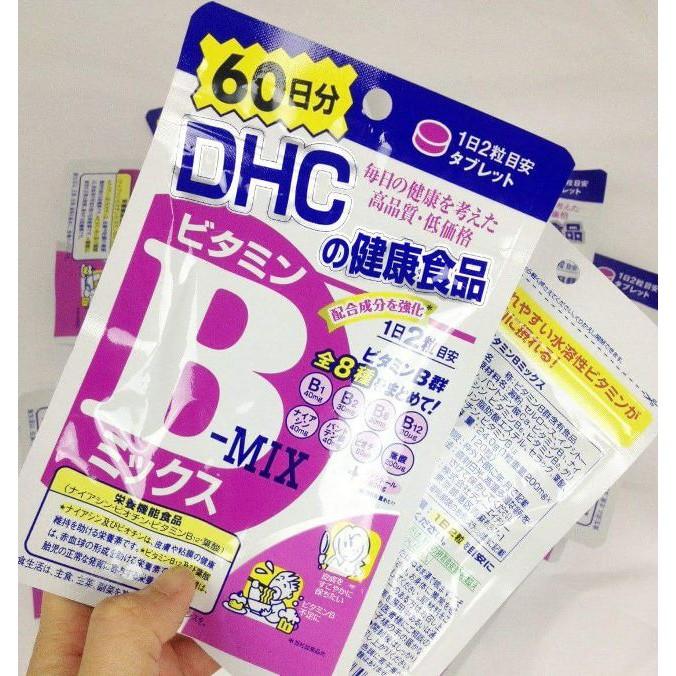 Viên uống bổ sung Vitamin B DHC 60 ngày