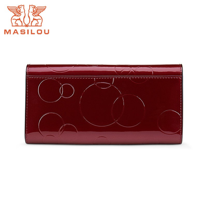 ☊♀Women were the new leather wallet 2019 long women's multi-function euramerican fashion atmosphere contracted hand bag