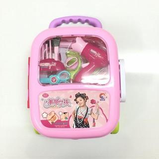Bộ đồ chơi phụ kiện làm tóc trang điểm cho bé giá rẻ No.6604[Tmarkvn]