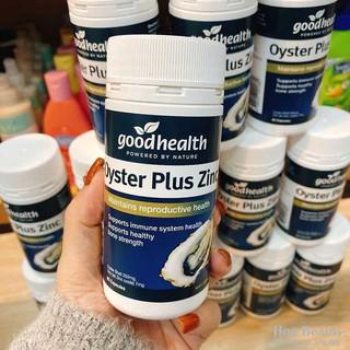 [HÀNG CHÍNH HÃNG] Tinh chất hàu biển Oyster Plus ZinC Goodhealth 60 viên - viên hàu úc thumbnail