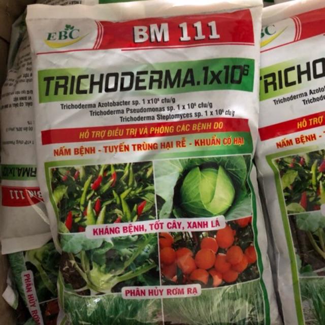 Phân hữu cơ Trichoderma 1kg - hỗ trợ điều trị nấm rễ