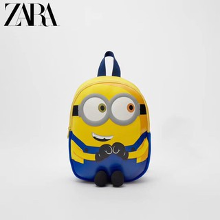(Hàng xuất) Balo minion zara cho bé đi học/ mẫu giáo (mẫu mới nhất)