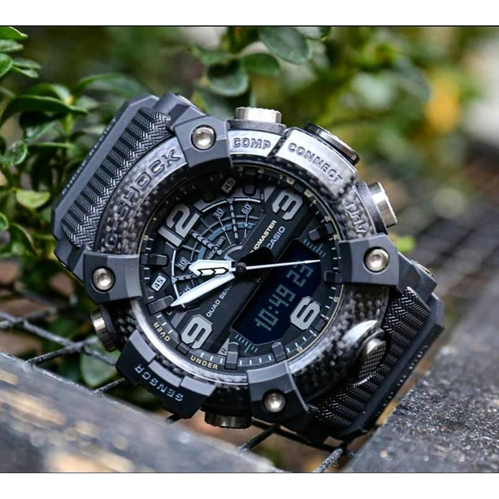 Đồng hồ Nam Dây Nhựa Casio G-Shock GG-B100-1BDR chính hãng bảo hành 5 năm Pin trọn đời