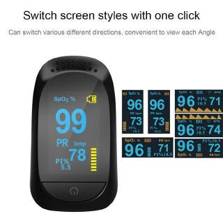 Finger Clip Pulse Oximeter Blood Oxygen Monitor Finger Pulse Heart Rate Meter Monitor Blood Oxygen Saturation