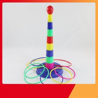 [KA] Bộ đồ chơi xếp hình ném vòng
