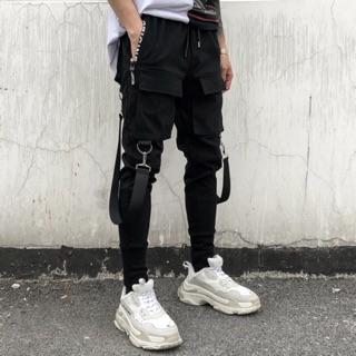 Quần jogger kaki chuẩn style unisex (có ảnh thật)