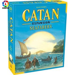 Bộ Trò Chơi Board Game Catan Biển Huyền Thoại Mở Rộng (Đã Có Bản Nền Sẵn) bìa thumbnail