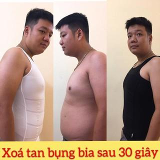 Áo gen nam định hình body - Đồ lót giảm béo bụng - Áo lót ba lỗ thể thao ôm body cho cơ bụng săn chắc thumbnail