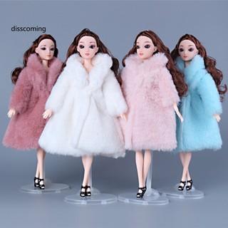 Áo choàng lông 30cm cho đồ chơi búp bê barbie thời trang thumbnail