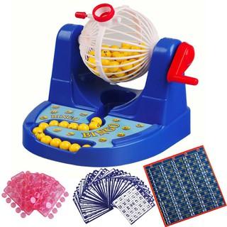 Bộ đồ chơi quay xổ số Bingo Lotto 90 số 48 thẻ giá rẻ[Tmarkvn]