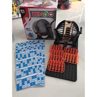 Đồ chơi lô tô Bingo Lotto 90 số 48 phiếu siêu to