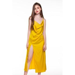 Dreamy VD03 Váy ngủ lụa cao cấp dáng dài xẻ tà quyến rũ thumbnail