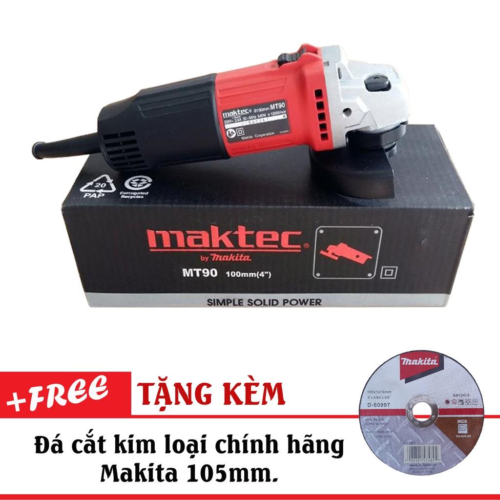 Máy mài góc 540W MAKTEC MT90 (Tặng kèm đá cắt siêu mỏng Makita) - 3036760 , 1149418758 , 322_1149418758 , 700000 , May-mai-goc-540W-MAKTEC-MT90-Tang-kem-da-cat-sieu-mong-Makita-322_1149418758 , shopee.vn , Máy mài góc 540W MAKTEC MT90 (Tặng kèm đá cắt siêu mỏng Makita)