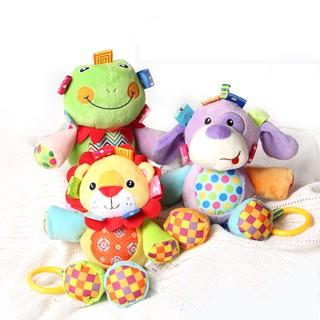 Baby Jollybaby Musical Plush Stuffed Animal Educational Comfort Crib Hanging Toy