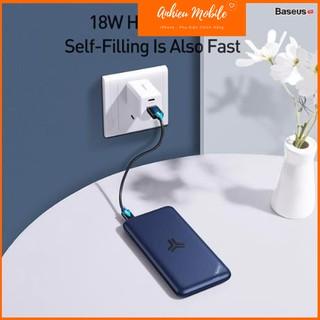 Pin Dự Phòng Sạc Nhanh Không Dây Baseus S10 Bracket Power Bank 10000 mAh (10W Wireless, 18W PD/ Quick Charge 3.0)