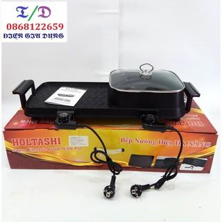 Bếp lẩu nướng 3 trong 1 Holtashi TC 13326G