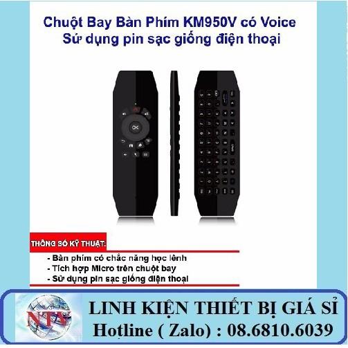 Chuột bay Air Mouse Vinabox KM950/ KM950V 2018 cho androi tivi box