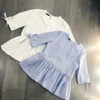 Áo babydoll nữ tay nơ bán chạy nhất