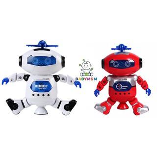 {SALE OFF} Đồ chơi Robot nhảy và phát sáng theo nhạc – Dance Robot xoay 360 độ thông minh