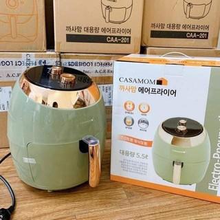 [Bảo hành - FreeShip] Nồi chiên không dầu CASAMOM chính hãng nhập khẩu Hàn Quốc, tiết kiệm điện, an toàn