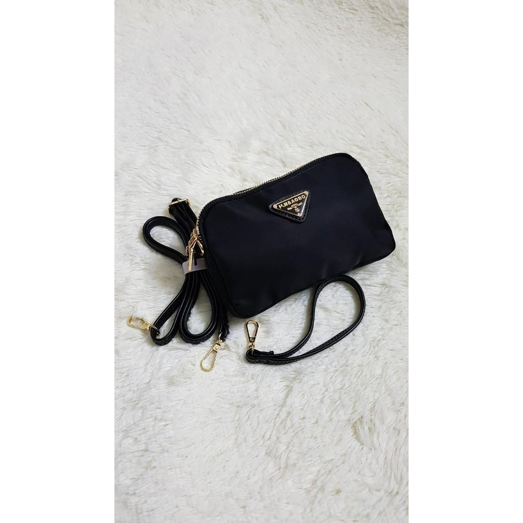 Túi đeo chéo vải dù mini QN95