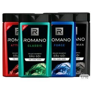 Dầu gội đầu Romano 180g