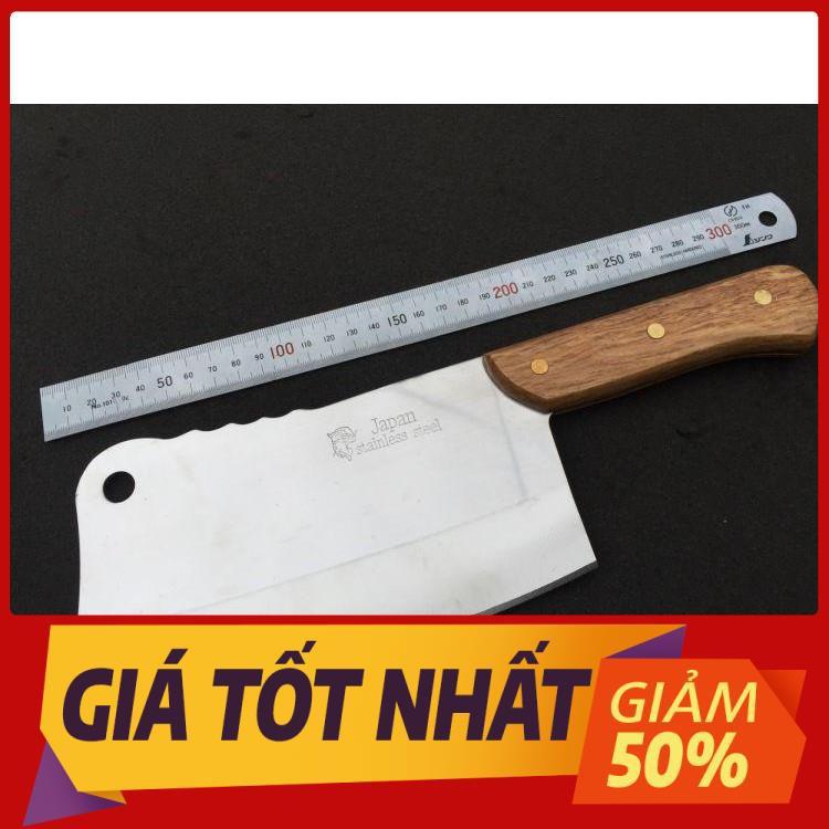 Dao chặt xương japan stainless steel - dao bếp - dụng cụ nhà bếp