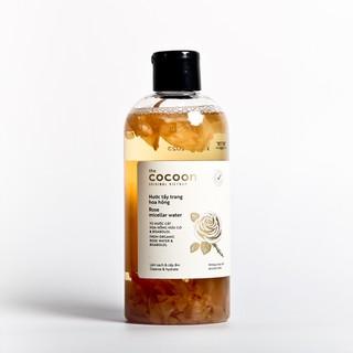 Nước tẩy trang hoa hồng cocoon 300ml (rose micellar water)