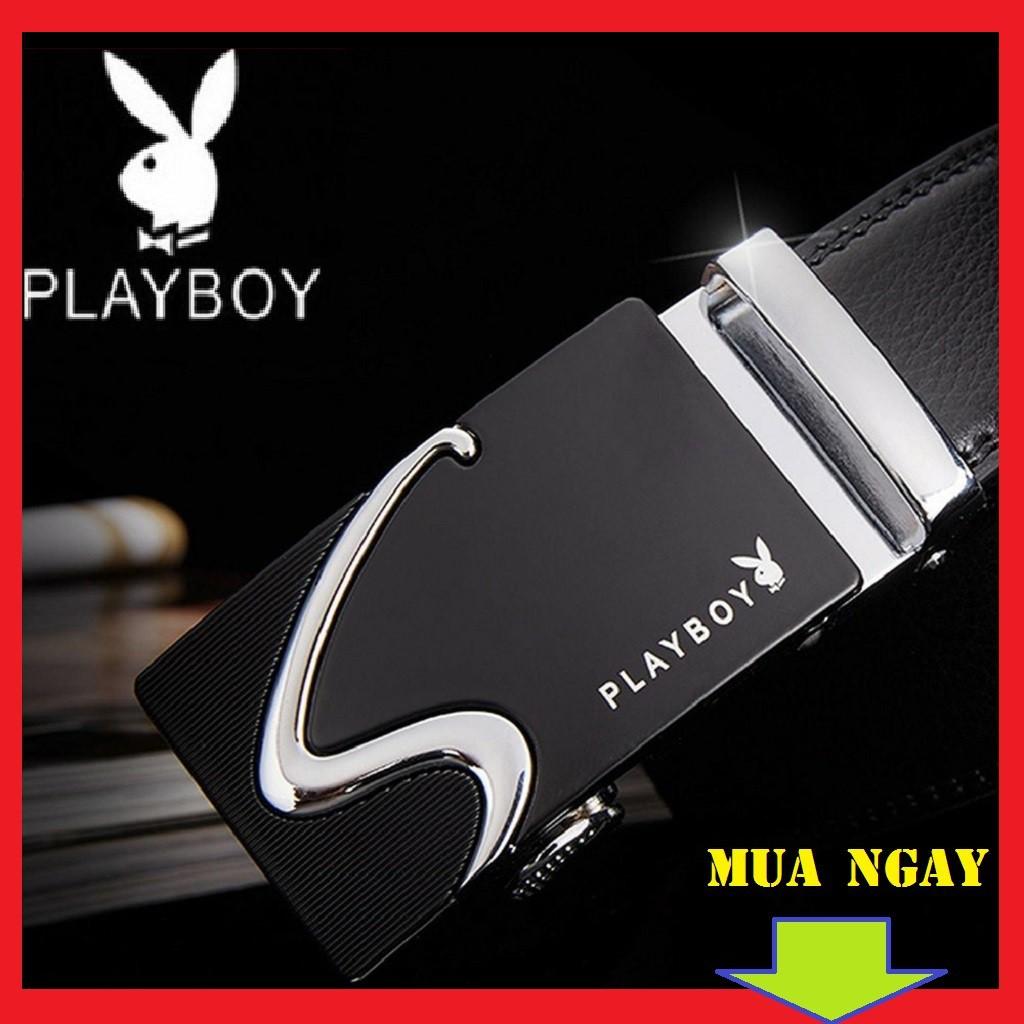 Thắt lưng nam da thật hiệu Playboy hàng cao cấp. . . - thắt lưng nam cao cấp