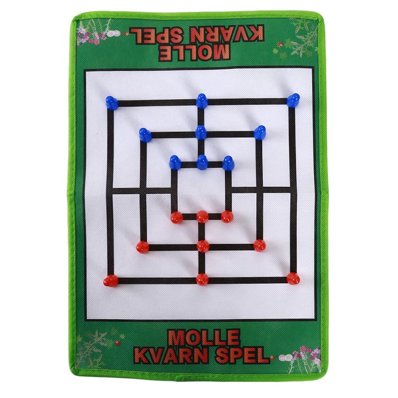 Parent-child Interactive Table Games Non-woven Morris Chess Nine Chess