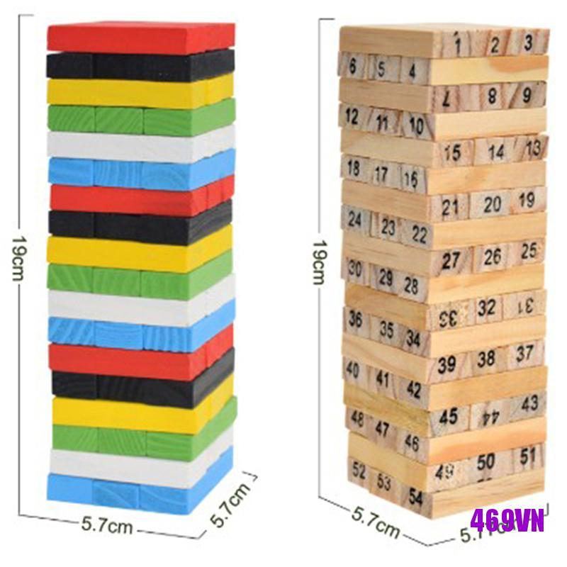 [SWE]Wooden Digital Building Block Brain Game Toy Entertainment Interaction Toys