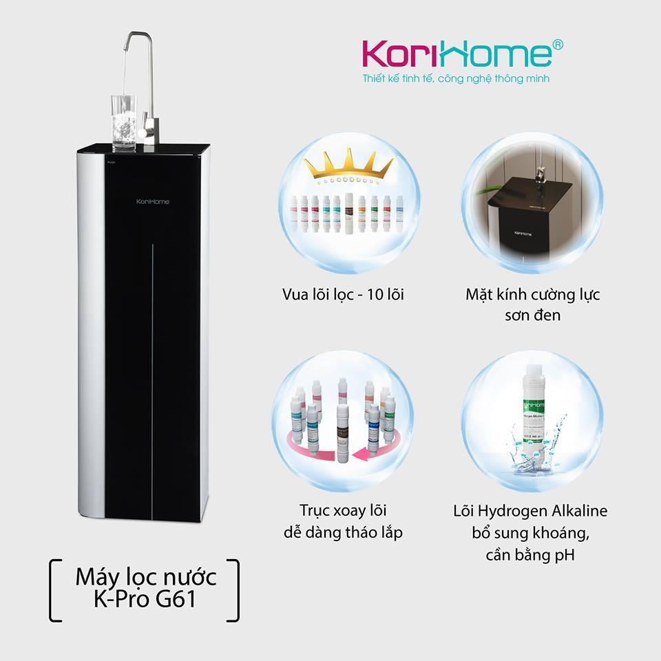Máy lọc nước Korihome K-PRO WPK-G61 (10 cấp lọc) | Shopee Việt Nam