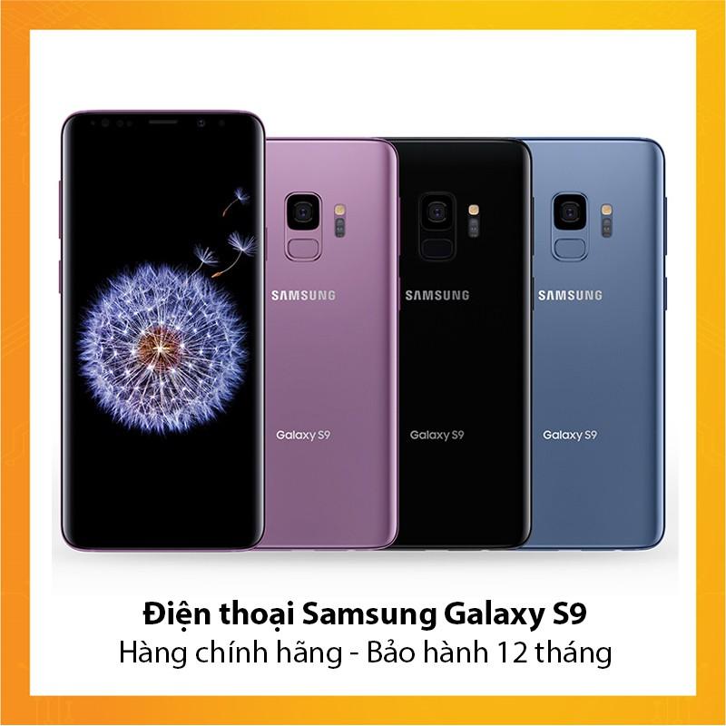 Điện thoại Samsung Galaxy S9 - Hàng chính hãng - Bảo hành 12 tháng