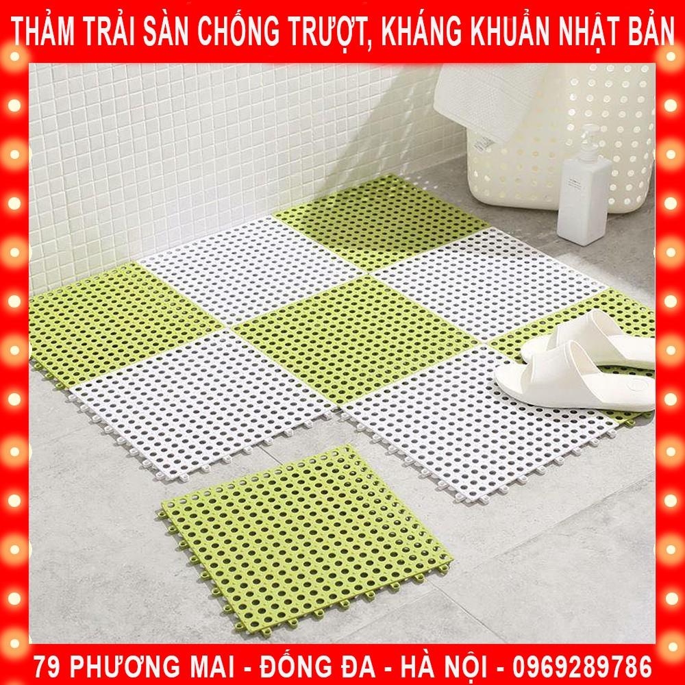 Thảm Nhựa Lỗ Kháng Khuẩn, Chống Trơn, Trượt Nhà Tắm , Nhà Bếp KT 30*30cm