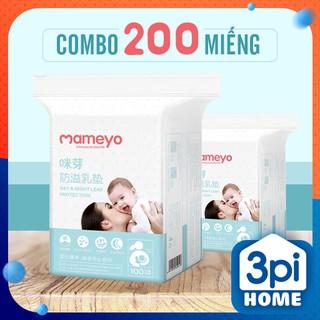 Combo 200 Miếng Lót Thấm Sữa Mameyo