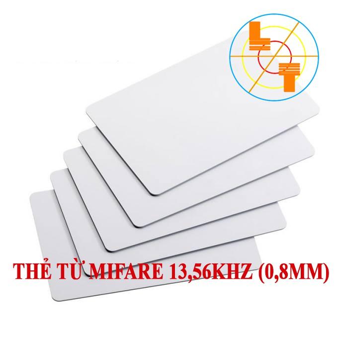Thẻ từ chấm công Mifare 13,56hz 0.8mm (Hộp 50 thẻ).