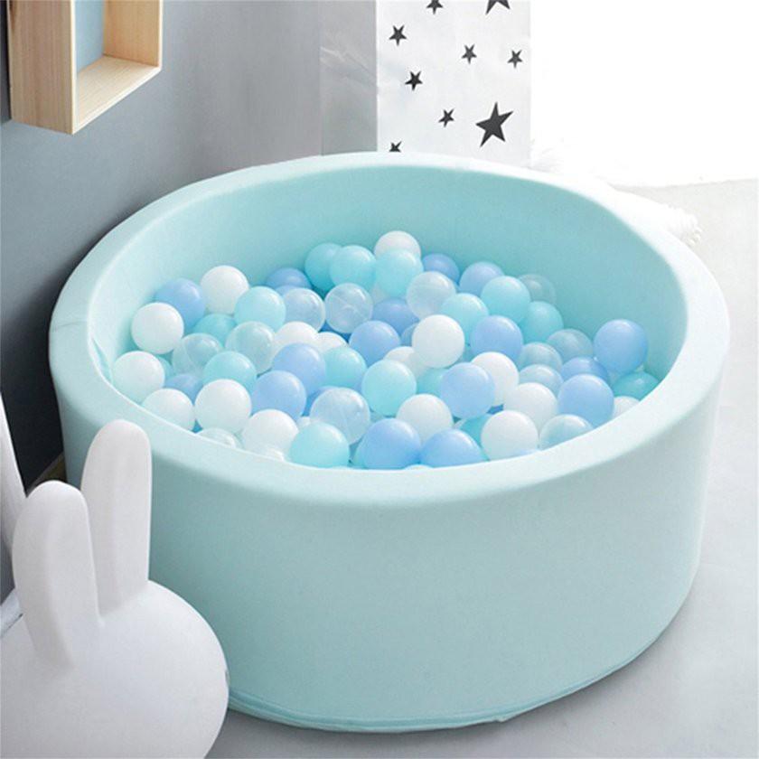 【Kiss】Round Anti Stress Sponge Toddler Baby Ocean Ball Pool Toy Children Gift