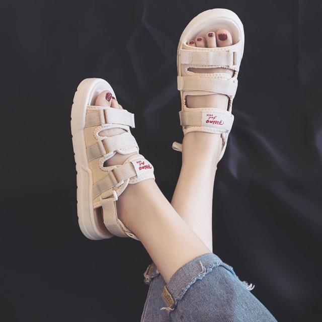 Dép sandal hot hit 2020 hàn quốc 3 quai