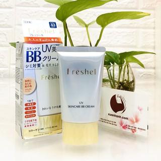 BB Cream Kanebo Freshel White C Mineral UV, khoáng chất lành tính, beige sáng tự nhiên thumbnail