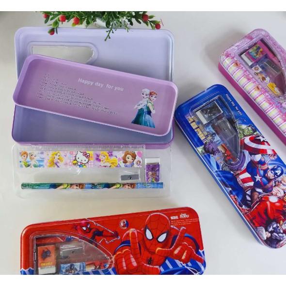Hộp đựng bút siêu nhân - công chúa - cực đẹp - cực rẻ   Shopee ...